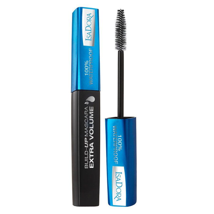 IsaDora Build-Up Mascara Extra Volume 100% WaterProof 12ml