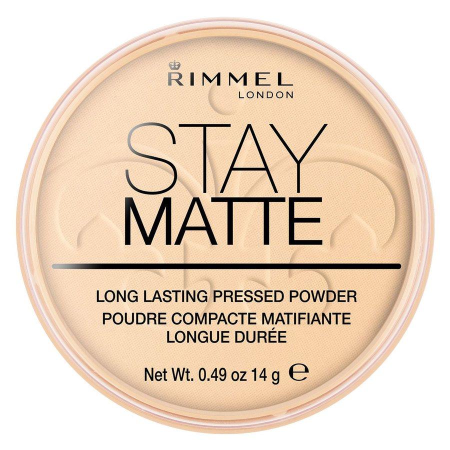 Rimmel London Stay Matte Pressed Face Powder #001 Transparent 14g