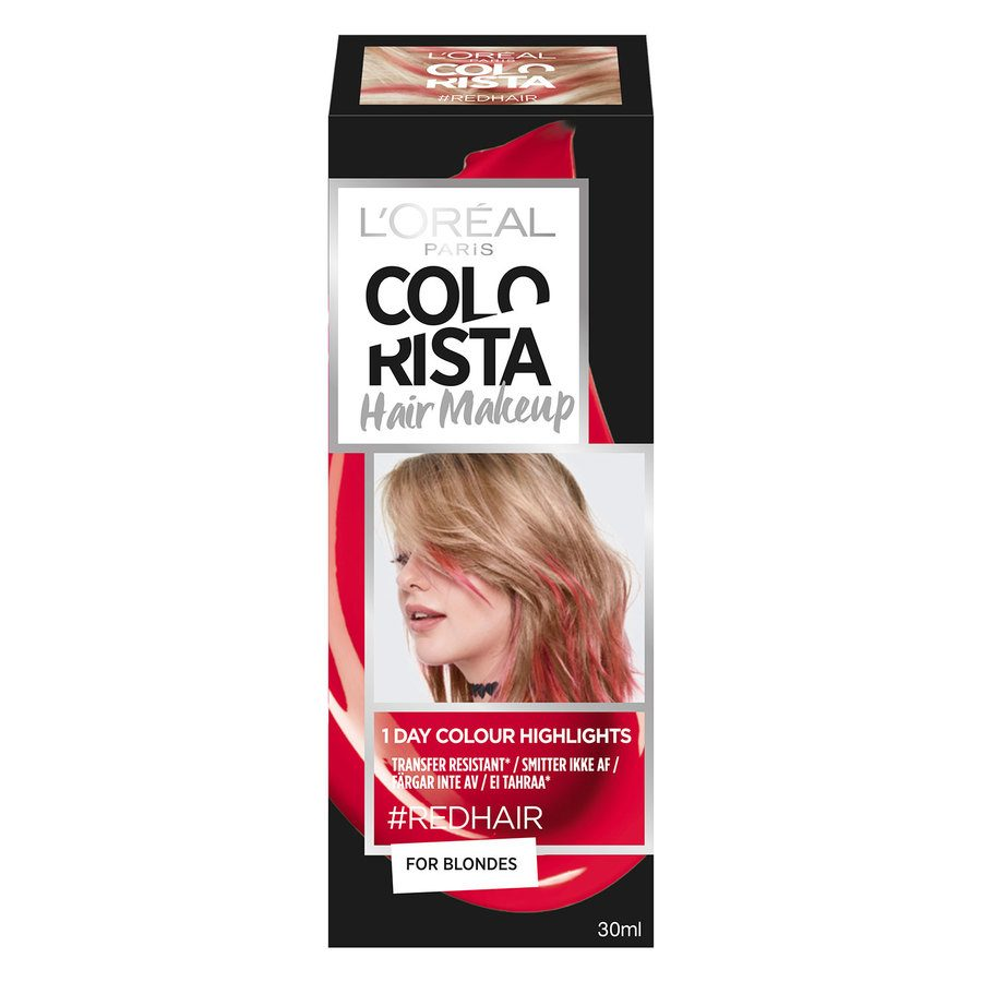 L'Oréal Paris Colorista Hair Makeup 10 Red