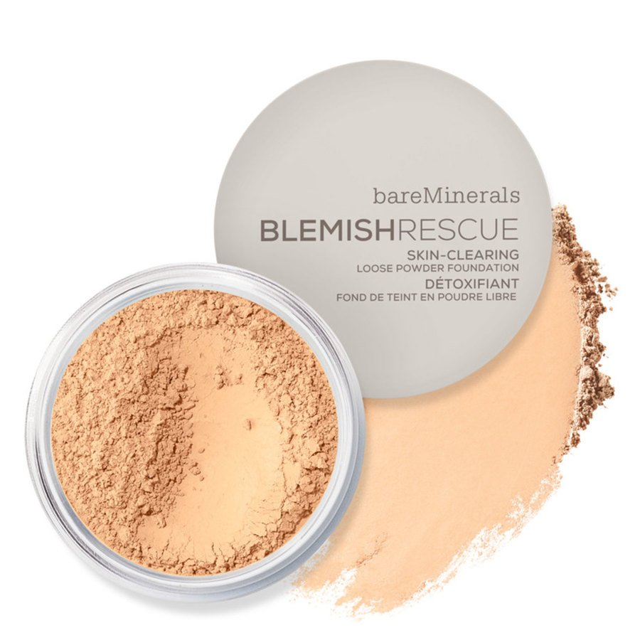 BareMinerals Blemish Rescue Skin Clearing Loose Powder Foundation Fair Ivory 1N 6g