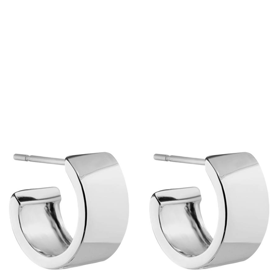 Snö of Sweden Carrie Small Earring Plain Silver 13mm