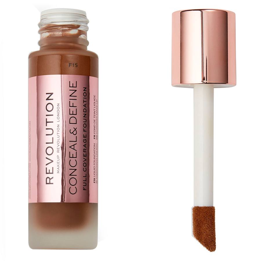 Makeup Revolution Conceal & Define Foundation F15 23ml