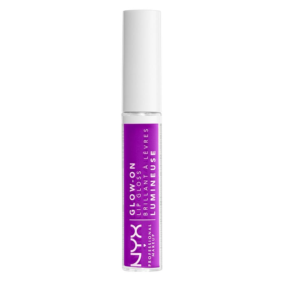 NYX Professional Makeup Glow-On Lip Gloss Lilac Vibes 7,5ml