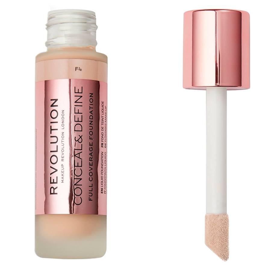 Makeup Revolution Conceal & Define Foundation F4 23ml