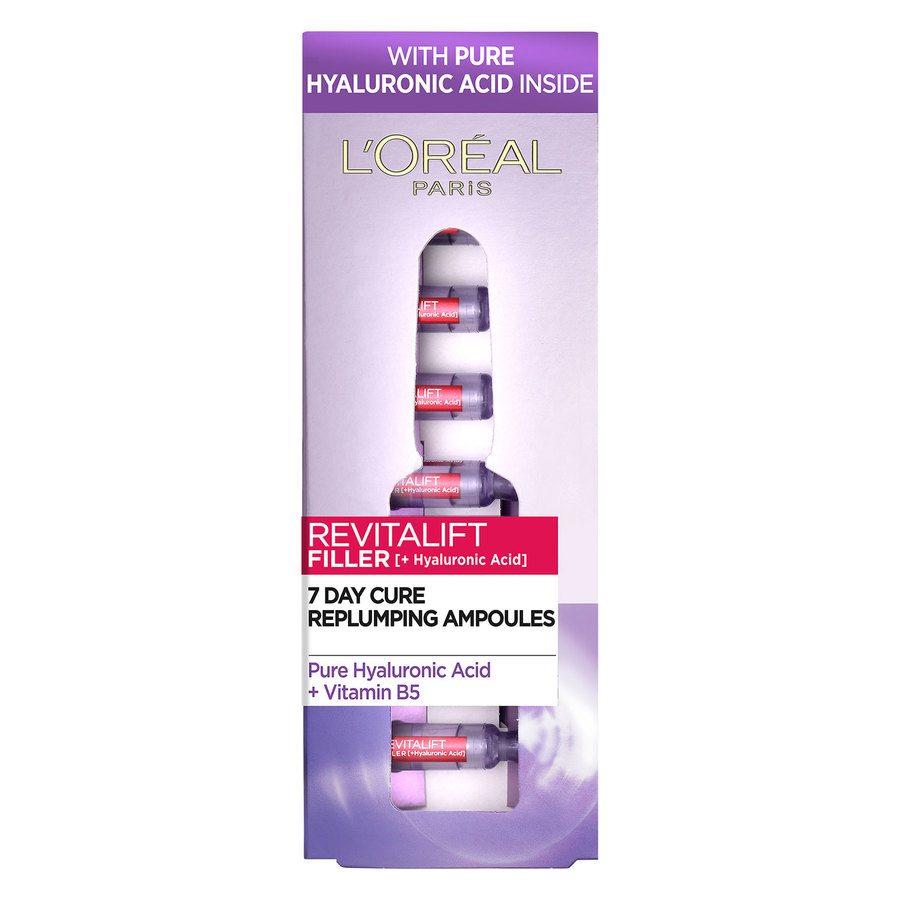 L'Oreal Paris Revitalift Filler Ampoules Hyaluronic Acid 7x1,3ml