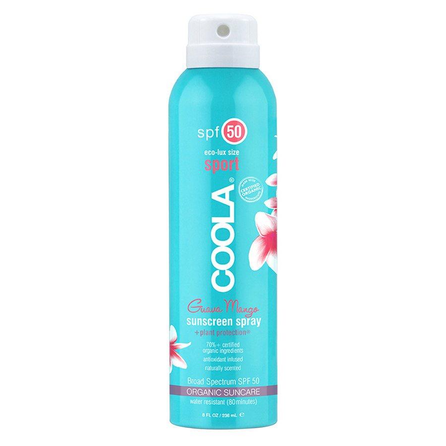 Coola Spray SPF50 Guava Mango 236ml