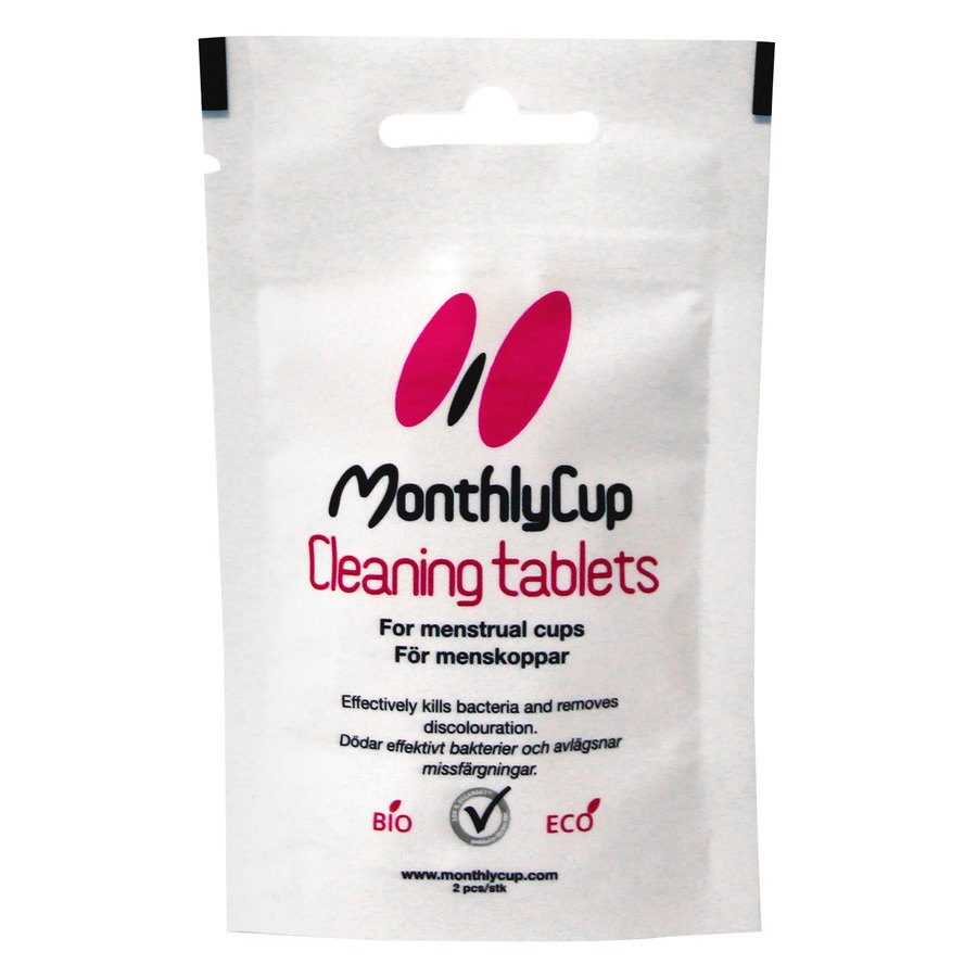 MonthlyCup Cleaning Tablets 2pcs