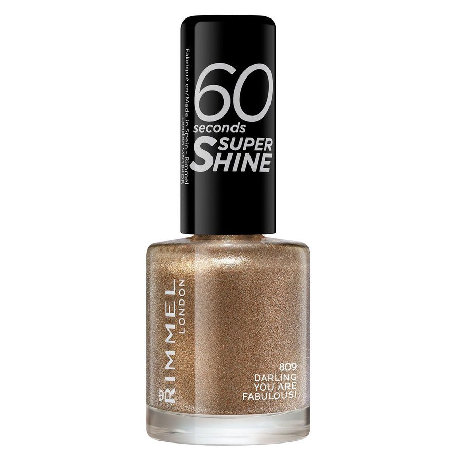 Rimmel London 60 Seconds Super Shine Nail Polish #809 Darling 8ml