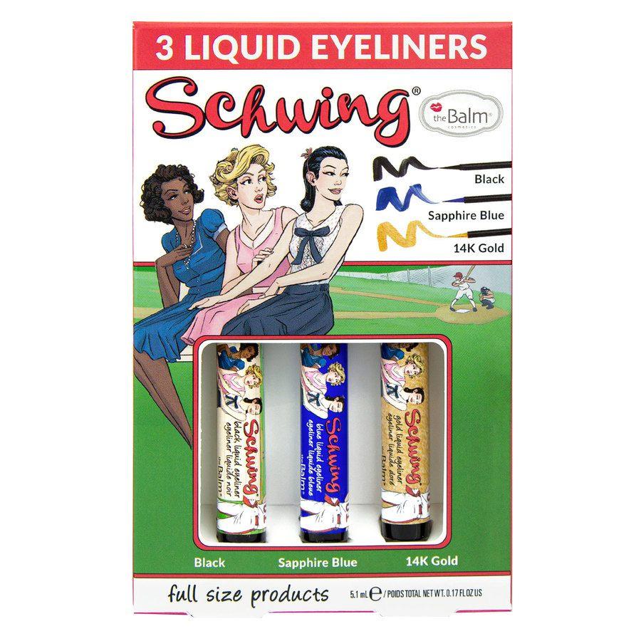 theBalm Schwing Eyeliner Box Set 3x1,7ml