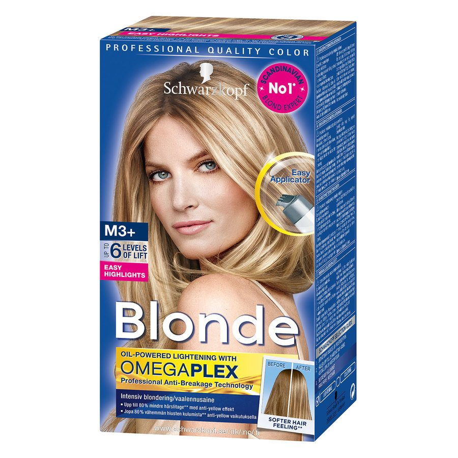 Schwarzkopf Blonde M3+ Strong Easy Streaks