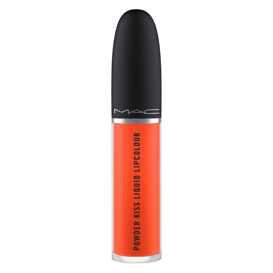 MAC Powder Kiss Liquid Lipcolour 10 Resort Season 5ml