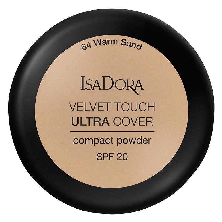 IsaDora Velvet Touch Ultra Cover Compact Powder SPF20 64 Warm Sand 7,5g