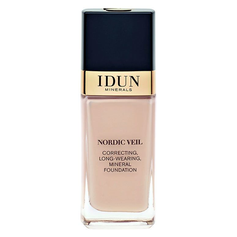 IDUN Minerals Nordic Veil Correcting Long Wearing Mineral Foundation Ingrid 26ml