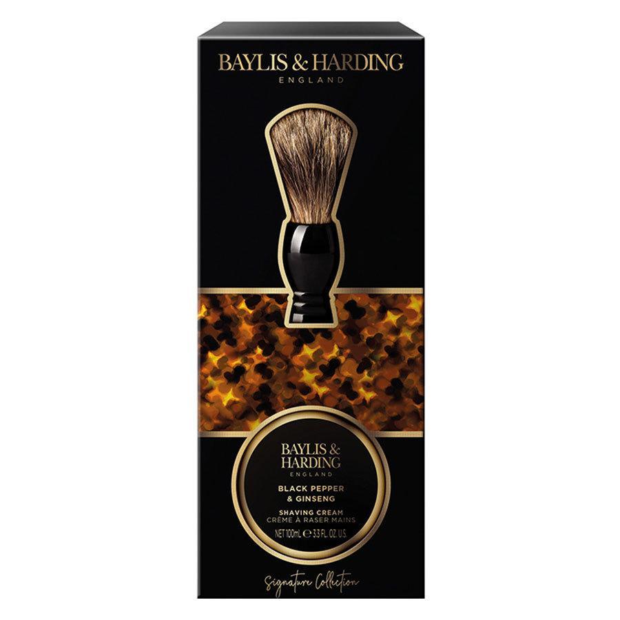 Baylis & Harding Signature Men's Black Pepper & Ginseng Shaving Set