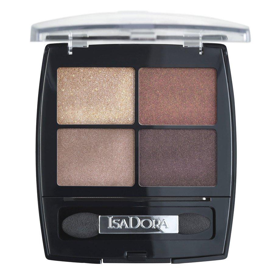IsaDora Eyeshadow Quartet #18 Boho Browns 5g