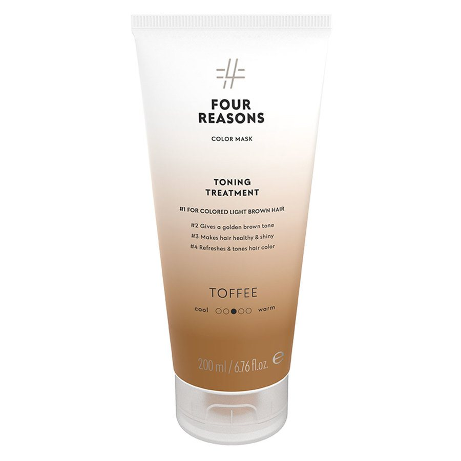 Four Reasons Color Mask Toning Treatment Toffee 200ml