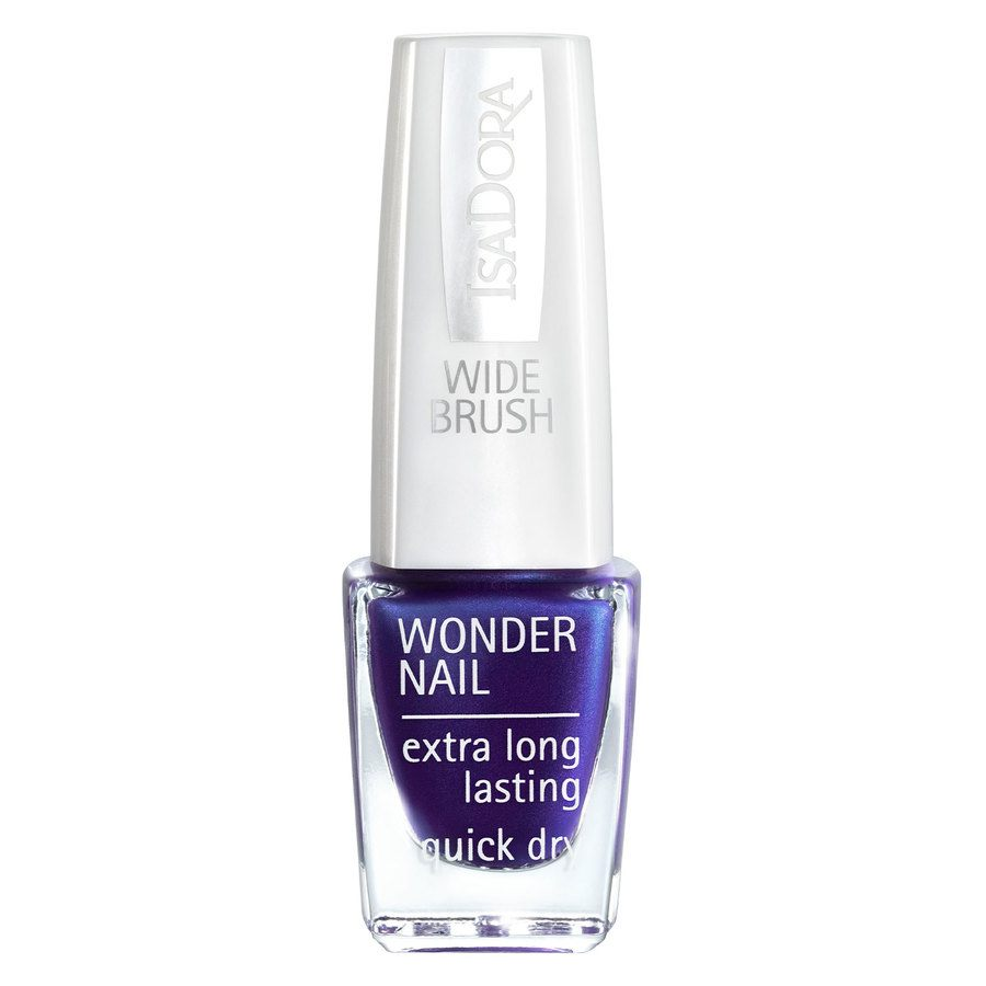 IsaDora Wonder Nail Wide Brush #570 Posh Purple 6ml
