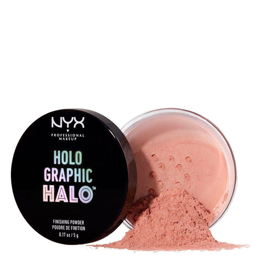 NYX Professional Makeup Holographic Halo Finishing Powder Magical