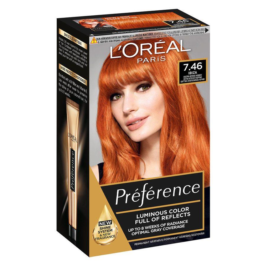 L'Oréal Paris Préférence Core Récital 7.46