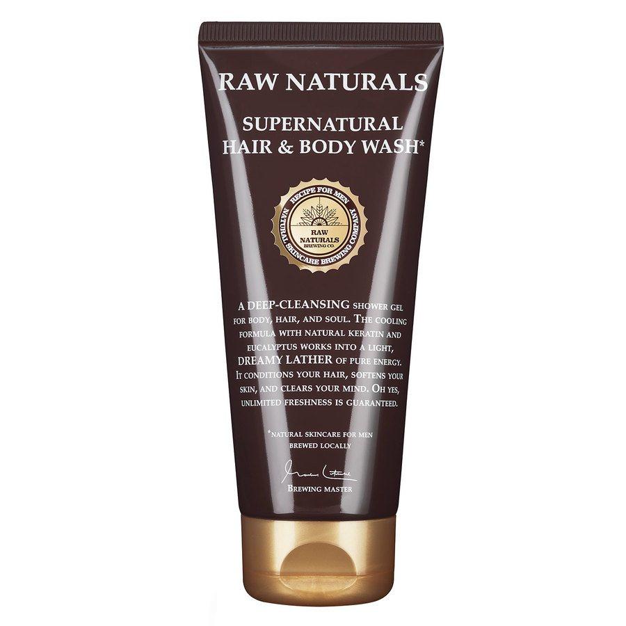 Raw Naturals Supernatural Hair & Body Wash 200ml