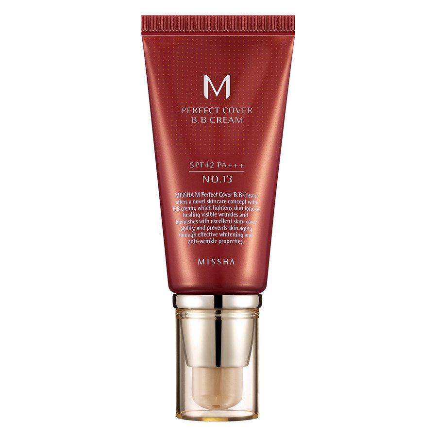 Missha M Perfect Cover Bb Cream Spf42/Pa+++ (No.13/Bright Beige) 50ml