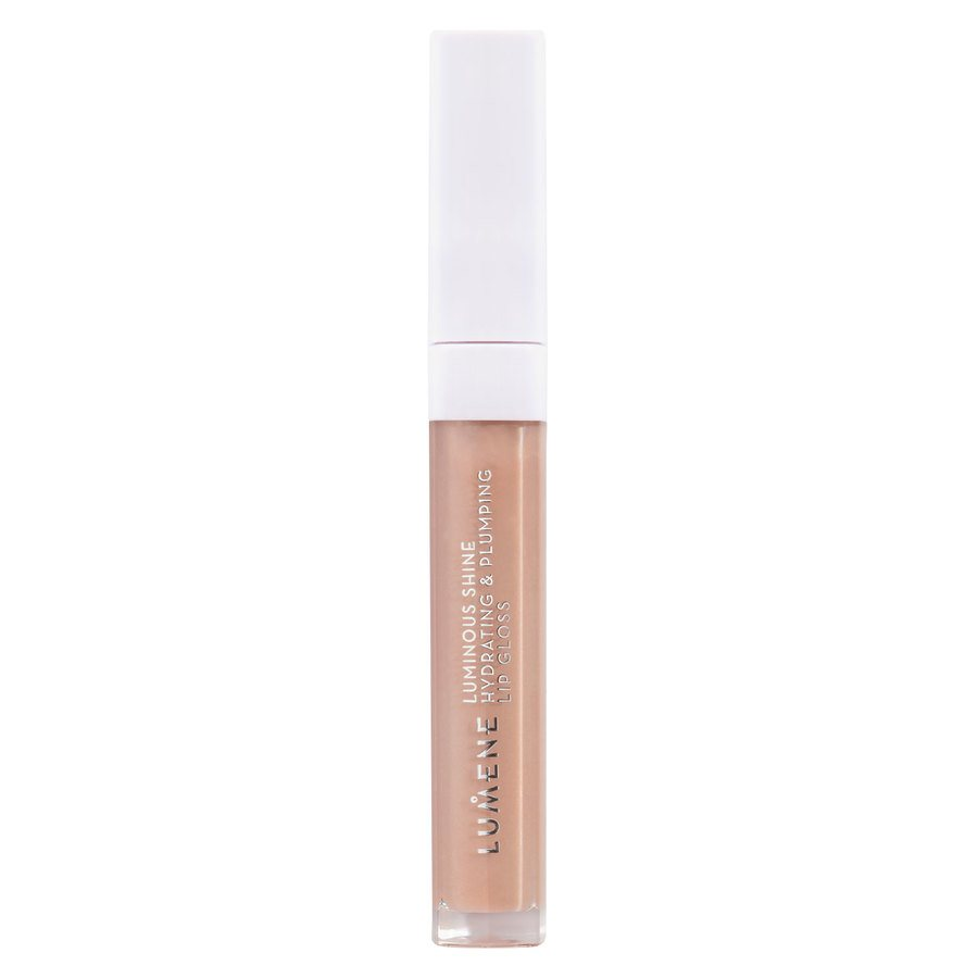 Lumene Luminous Shine Hydrating & Plumping Lip Gloss 1 Pale Honey 5ml