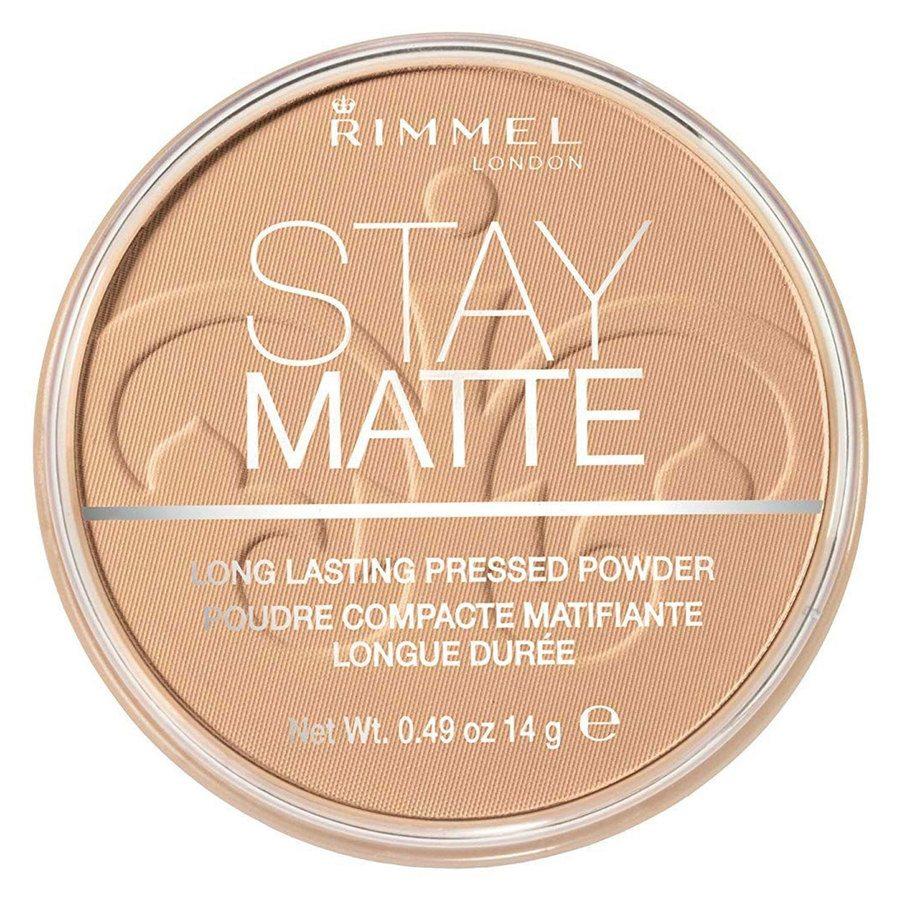 Rimmel London Stay Matte Pressed Face Powder #010 Warm Honey 14g