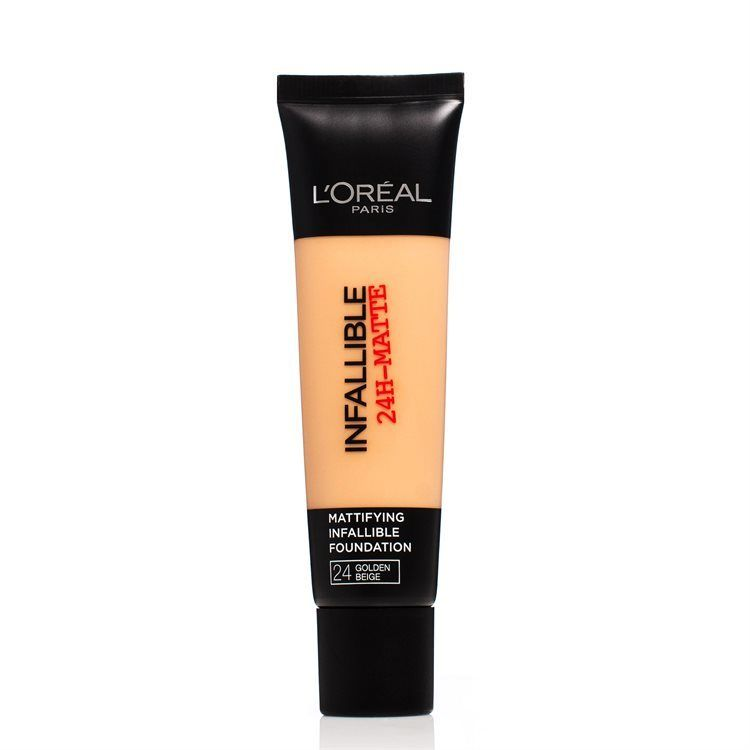 L'Oréal Paris Infallible 24h Matte Foundation #24 Golden Beige 30ml