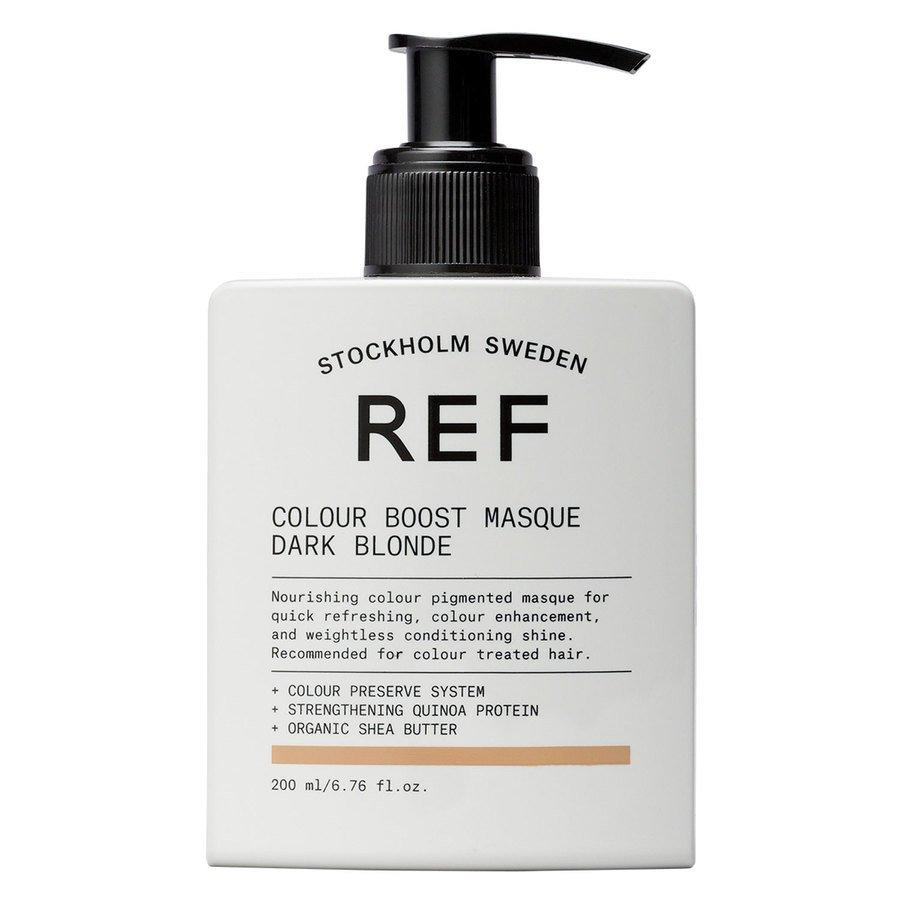 REF Colour Boost Masque Dark Blonde 200ml