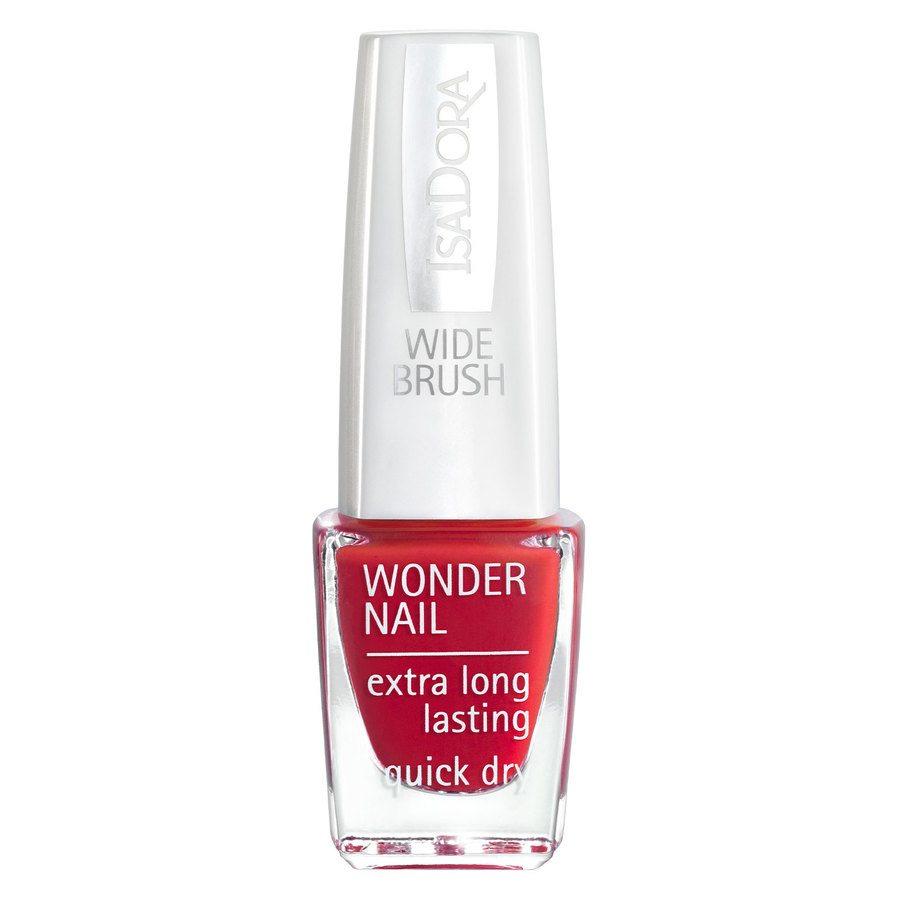 IsaDora Wonder Nail Wide Brush #412 In Red 6ml