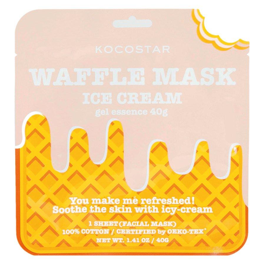Kocostar Waffle Mask Icecream 40g