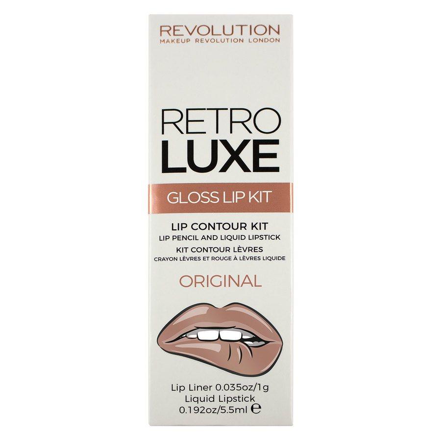 Makeup Revolution Retro Luxe Kits Gloss Original 2pcs