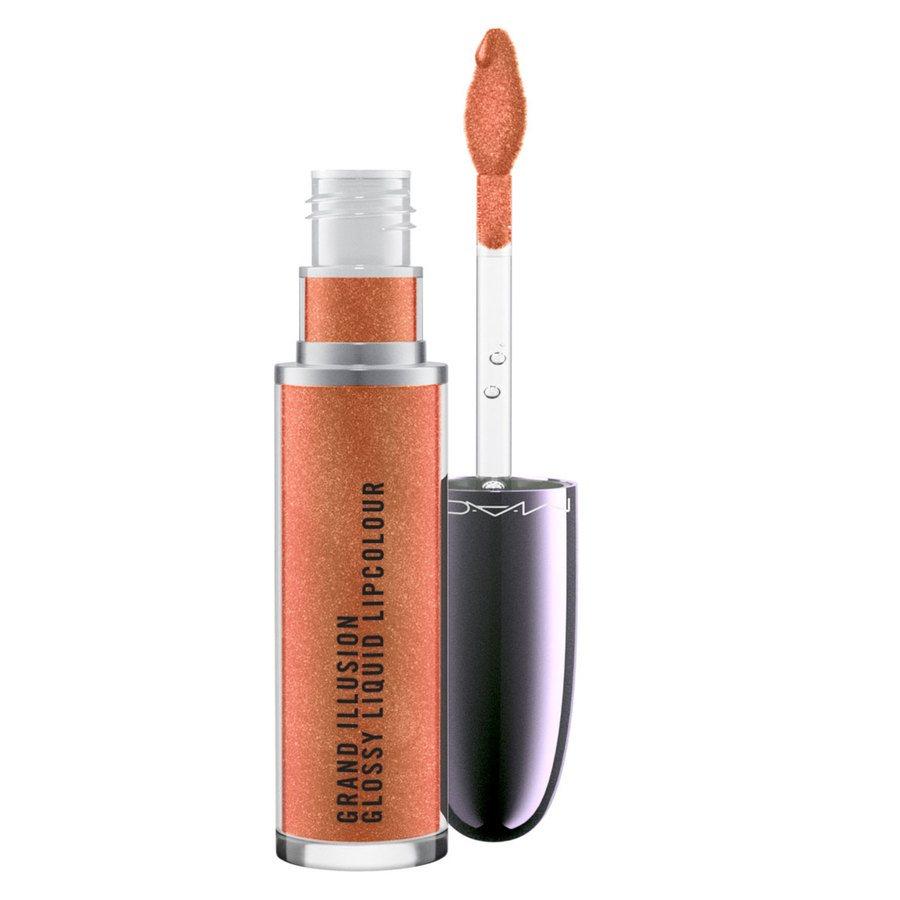 MAC Grand Illusion Glossy Liquid Lipcolour Autumn Russet 5ml