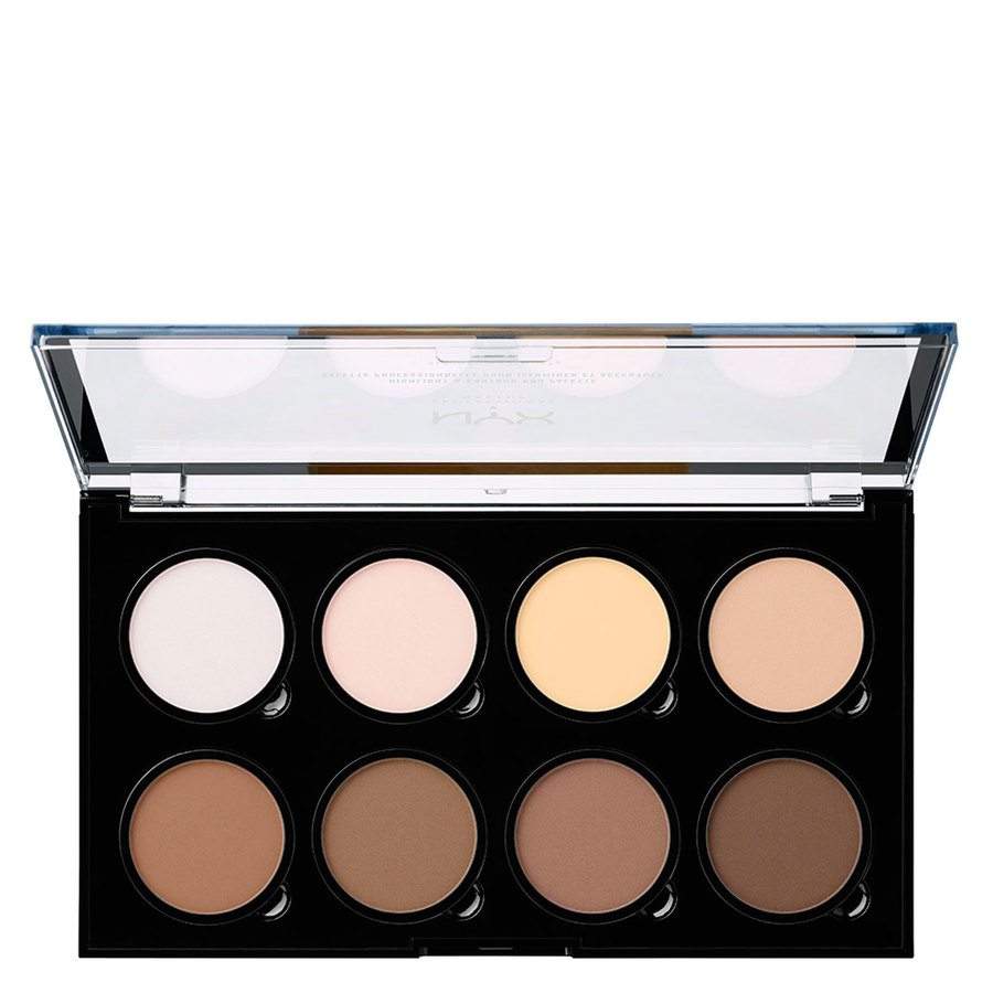NYX Professional Makeup Contour & Highlight Pro Palette 21,6g