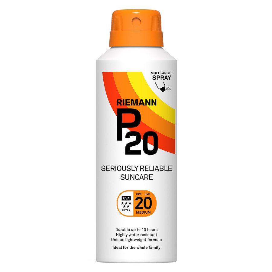 Riemann P20 Continous Spray SPF20 150ml (Aerosol Spray)