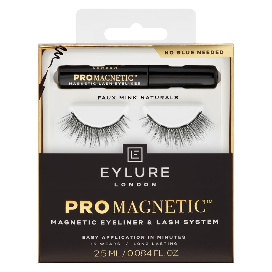 Eylure ProMagnetic Magnetic Liner & Lash System Faux Mink Naturals