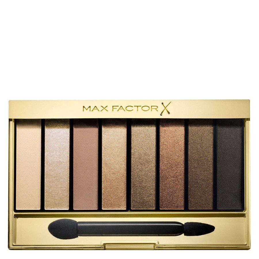 Max Factor Masterpiece Nude Palette Contouring Eye Shadows #02 Golden Nudes