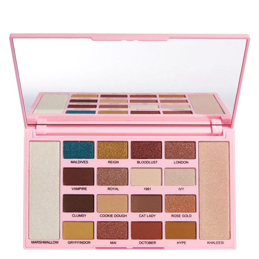 Makeup Revolution X Kisu Eyeshadow Palette