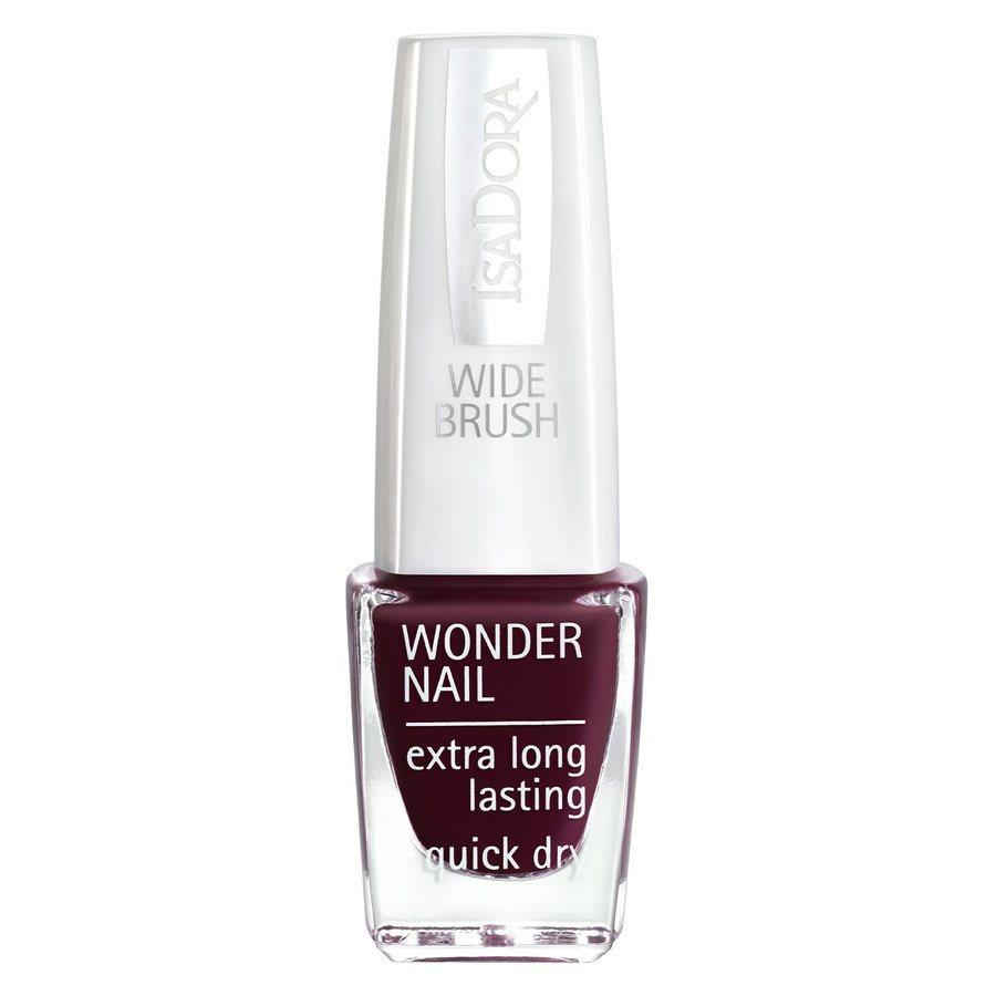 IsaDora Wonder Nail Wide Brush #418 Urban Red 6ml