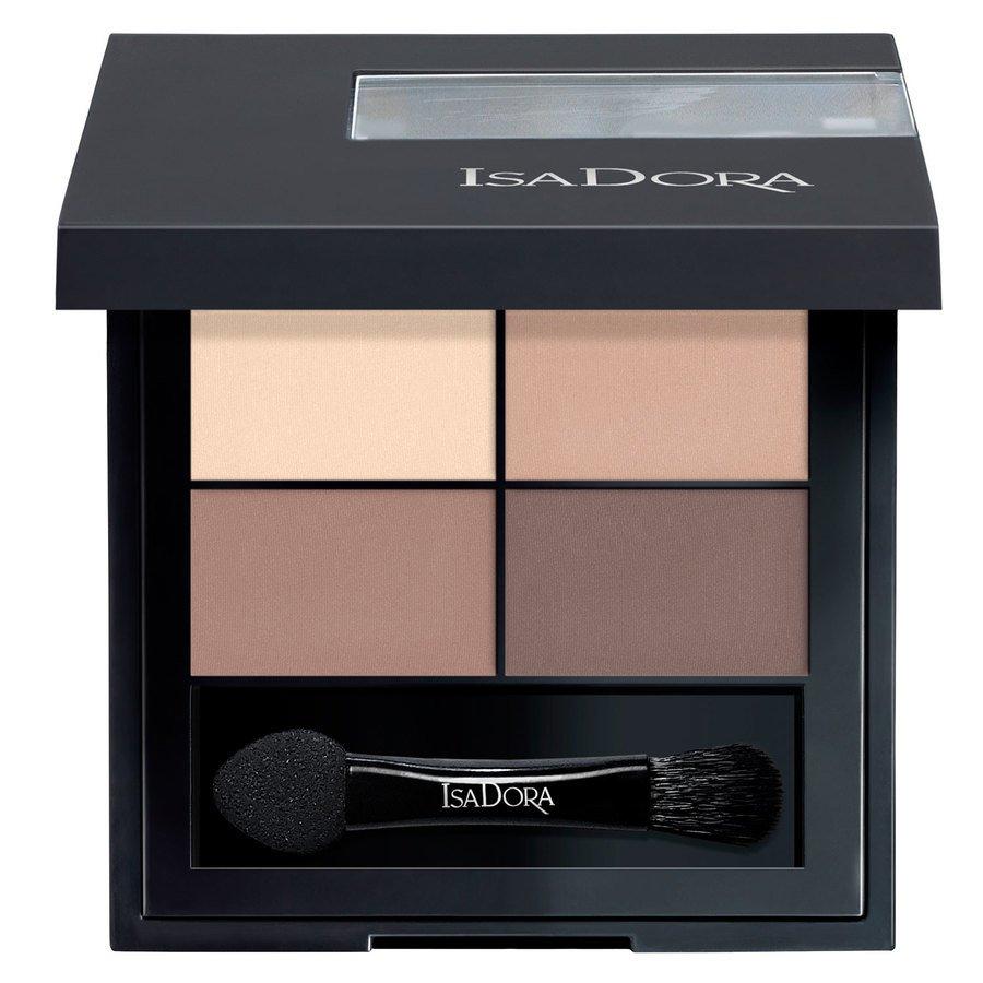 IsaDora Eye Shadow Quartet #01 Muddy Nudes 4g