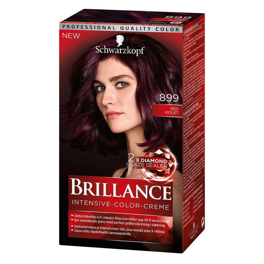 Schwarzkopf Brillance Intensive Color Creme 899 Red Violet