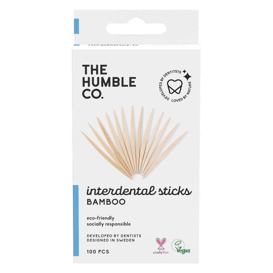 The Humble Co Bamboo Interdental Sticks 100pcs