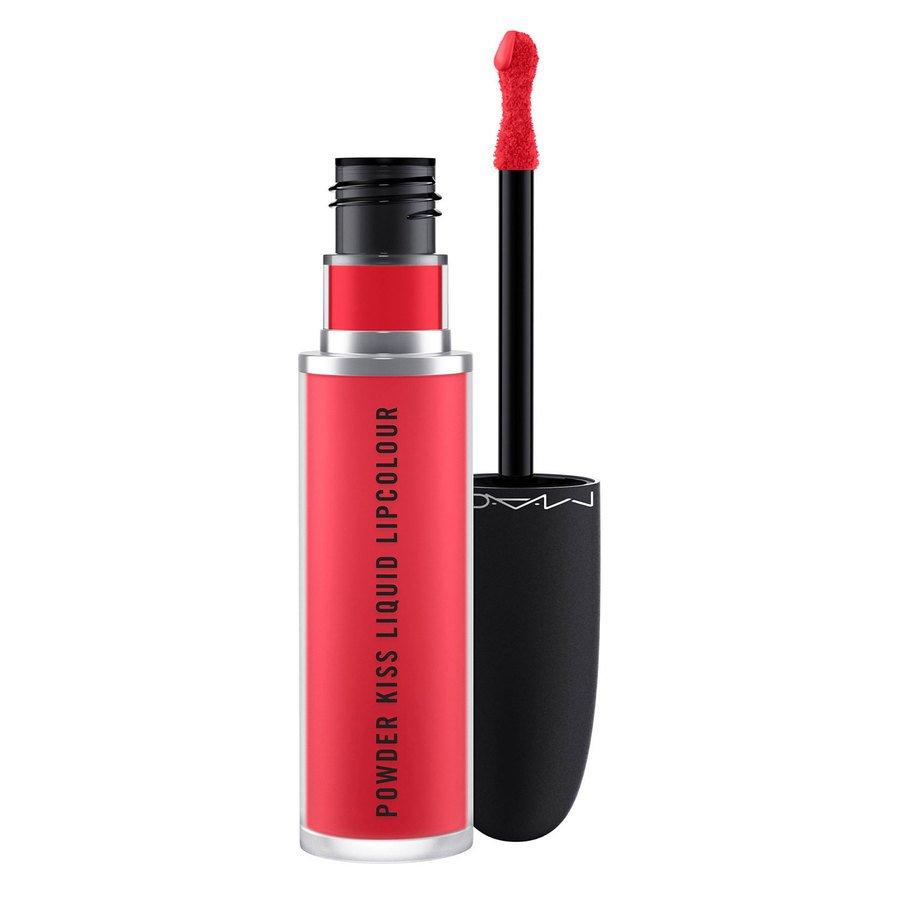 MAC Cosmetics Powder Kiss Liquid Lipcolour Escandalo! 5ml