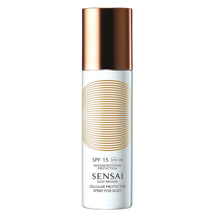 Sensai Silky Bronze Cellular Protective Spray For Body SPF15 150ml