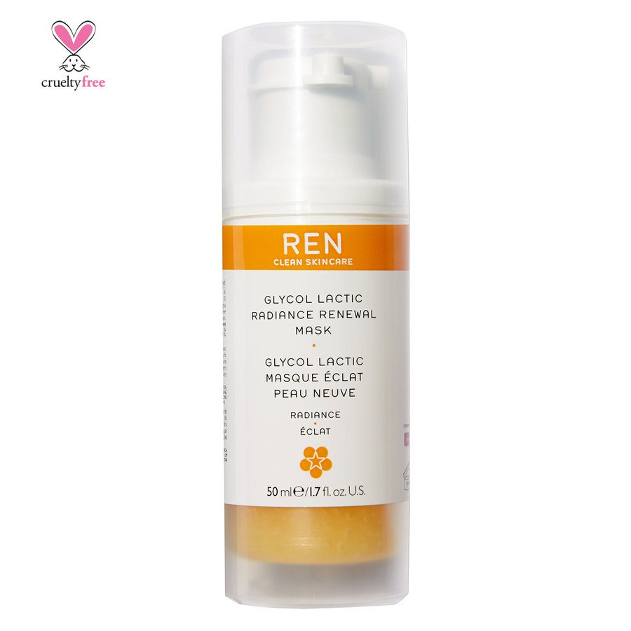 REN Clean Skincare Glycol Lactic Radiance Renewal Mask 50ml