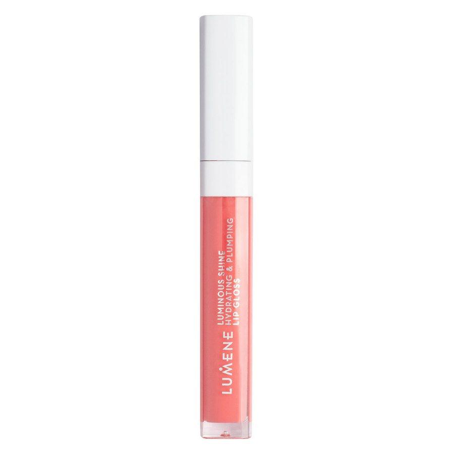 Lumene Luminous Shine Hydrating & Plumping Lip Gloss 9 Peach pink  5 ml