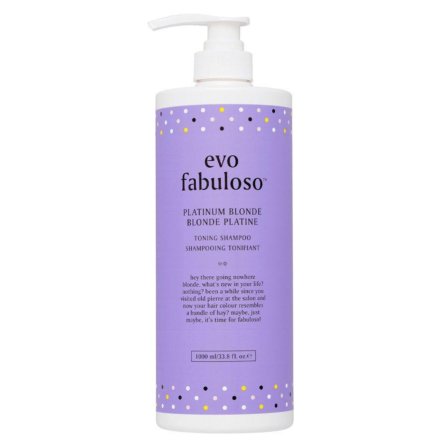 Evo Fabuloso Platinum Blonde Shampoo1000ml