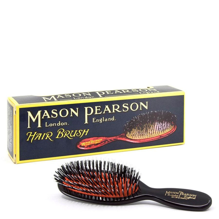 Mason Pearson Brush Bn4 Pocket Bristle/Nylon- Dark