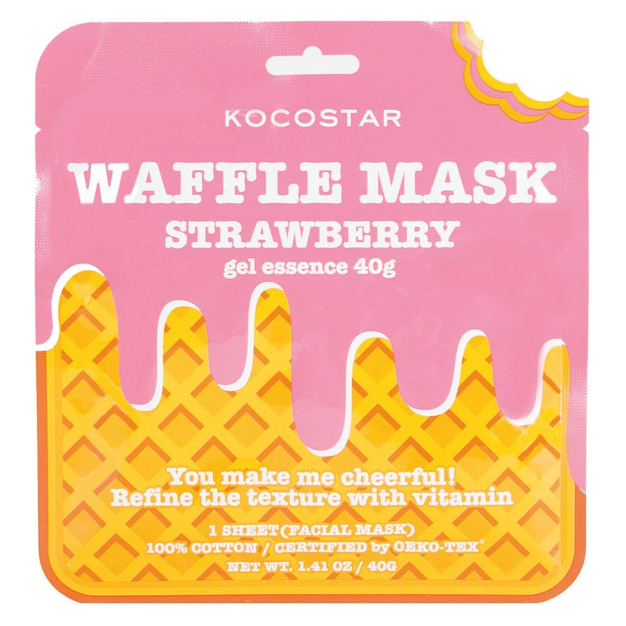 Kocostar Waffle Mask Strawberry 40g
