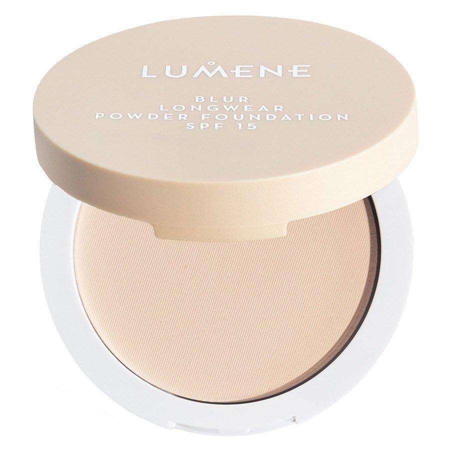 Lumene Blur Longwear Powder Foundation SPF 15 Fresh Apricot 10g
